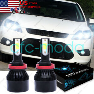 Led Headlight H11 6000k White Low Beam Cree Bulbs For Ford Focus 2013 2013 2014