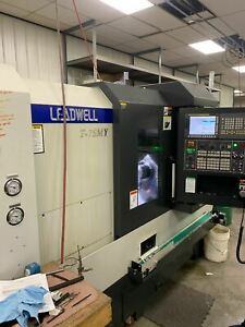Leadwell T 7smy Multi Axis Lathe 2018 Live Tooling Sub Spindle Video Availa