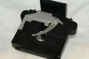 Olympus Adjustable Scaled Microscope Stage Rideguide For Olympus Cx40lf100 H20