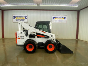 2017 Bobcat S740 Cab Wheeled Skid Steer Loader With A c And Heat