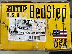 Amp Research Bed Step Retractable 2010 2018 Ram 1500 Ram 2500 3500 Fast Ship