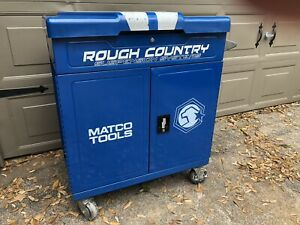 Matco Rolling Tool Box Service Cart Cabinet Chest Used