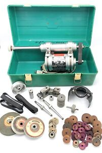 Themac Precision Post Grinder J35 With Wheels Accessories Box see Photos Usa