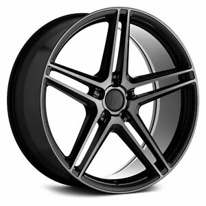 Mandrus Bremen Wheel 20x10 25 5x112 66 6 Black Single Rim