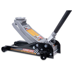 Black Jack 3 ton Blackjack Hydraulic Low Profile Steel Racing Floor Jack