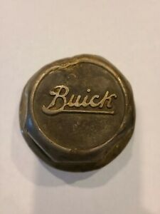 Vintage Buick Screw On Wheel Center Grease Cap Hub Cap 1920 s 1930 s Aluminum