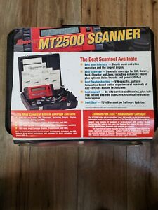 Snap On Mt2500 Scanner Original Hard Plastic Case W Extra Parts Pieces Works