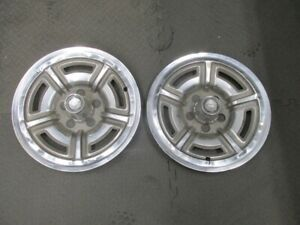 Pair Of 1967 1968 Ford Galaxie 500 Hubcaps