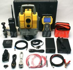 Trimble 5603 3 Dr 200 2 4 Ghz Robotic Total Station W Ranger Georadio