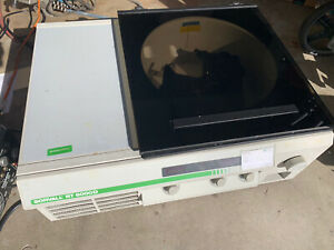 Sorvall Model Rt6000d Refrigerated Centrifuge With Dupont H1000b Rotor 3 Buckets