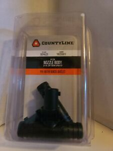 Countyline Tee Nozzle For 3 4 In Dry Boom Sprayer Pack Of 2 1074121