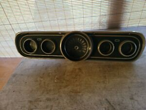 1965 1966 Ford Mustang Dash Cluster With Gauges Original Ford