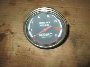 Oliver Tractor 1750 1850 1755 1855 1950t 1955 2150 Good Working Tachometer