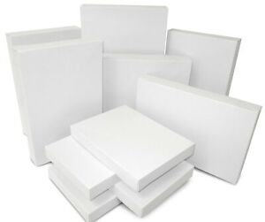 White Assorted Size Gift Boxes One Pack Of 10 Boxes Each