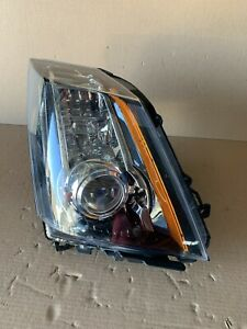 Used Oem Rh Headlamp 2008 2014 Cadillac Cts W High Intensity 22755338