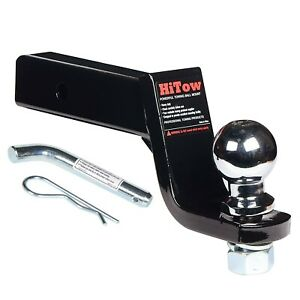 Hitow Trailer Hitch Loaded Ball Mount Class Iii iv 4 Drop With 2 5 16 Hitch