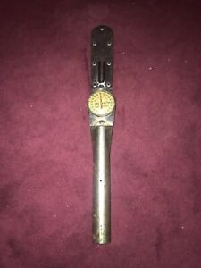 Vintage Snap On Torqometer 1003 Al 14 1000 Foot Pound 1 Drive Torque Wrench