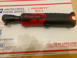 Snap on ctr761c 14 4 volt 3 8 Microlithium ion Cordless Ratchet tool Only new