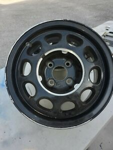 Ford Mustang 15 Factory Oem 10 Hole 4 Lug Rims Wheels Fox Body Ssp