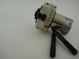 3 Jaw Chuck Attachment For Universal Laser System Rotary Fixture