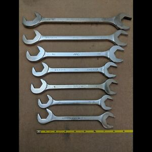 Mac Tools 6pc Cornwell 1pc Sae Four Way Angle Head Open End Wrench Set