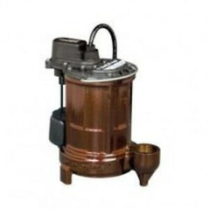 Liberty 257 Automatic Submersible Sump Pump Float Switch 115v 1 Ph 1 3 Hp