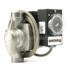 Armstrong 110223b 244 Hot Water Recirculation Pump With Timer And Cord 1 25 Hp