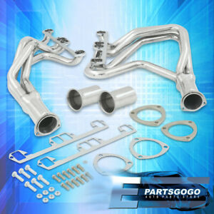 For 72 91 Dodge Pickup 318 360 5 2l 5 9 V8 Steel Exhaust Racing Headers Manifold