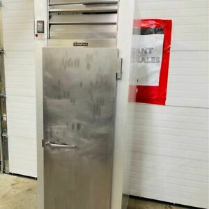 Traulsen G12010 Single Door Freezer W 2 Shelves Tested Working