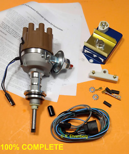 For Mopar 318 340 360 Hirev Electronic Ignition Kit Resto Plymouth Dodge Chrys