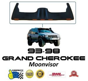 Jeep Grand Cherokee Zj 1993 1998 Fiberglass Moonvisor With Led Lighting