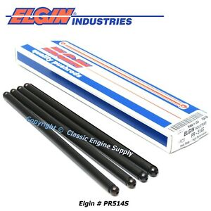 New Box Of 4 High Performance Push Rods Fits Gm 5 7l Ls1 Ls6 Engines