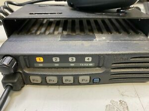 Icom Icf221 1 Uhf Mobile 440 490 Mhz 128ch 45w Bench Tested Ok To Specs