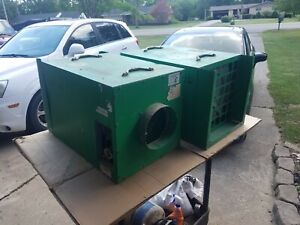 Abatement Technologies Psa 500 1 Works One Is For Parts Or It Needs Pressure Sw