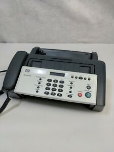 Hp 640 Fax Plain Paper Inkjet Quality Fax Machine needs Ink 701 Hp No Back
