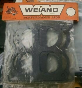 Nos Vintage Weiand 8992 8984 Hi Ram Intake Manifold Gaskets Hot Rod Speed Shop