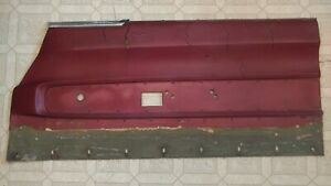 1966 1967 66 67 Dodge Charger Door Panel Front Rh Right Red