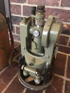 Wild leica T16 Theodolite transit For Surveying With Case Switzerland Made