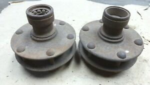 1915 1927 Model T Ford Front Hubs For Wood Spoke Wheel Original Pair