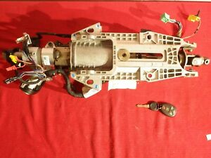 Complete Steering Column W Key Buick Enclave Gmc Acadia Chevy Traverse 2008 17