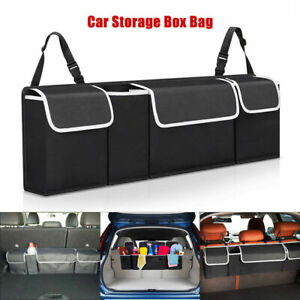 Car Trunk Organizer Car Interior Accessories Back Seat Storage Box Bag Oxford X1