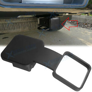 2 Trailer Tow Hitch Receiver Cover Plug Dust Cap Fit Nissan Honda Chevrolet Ford