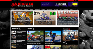 Motorcycle News Affiliate Product Website 100 Automated premium Designed