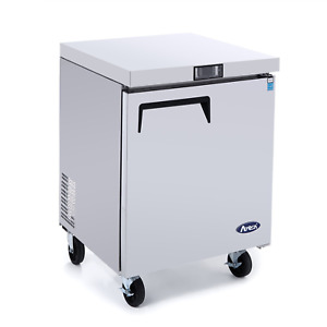 Commercial Undercounter Freezer atosa Commercial Small Beverage Cooler Freezer F