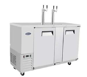 Commercial Beer Keg Cooler Kegerators atosa Mkc58 58 Small Commercial Stainless