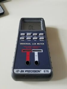 Bk Precision 878 Dual Display Lcr Meter Auto ranging Great Condition Tested