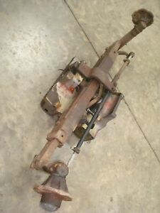 1977 Massey Ferguson 255 Diesel Tractor Wide Front End Axle Assembly