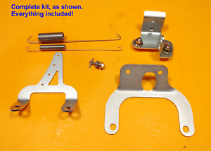 For Mopar La engine Tall Intake Throttle Bracket Kit Plymouth Dodge 340 360 318