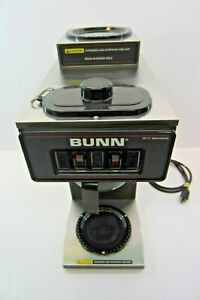 Used Bunn 13300 0012 Coffee Maker Vp17 2 Stainless no Coffee Pot