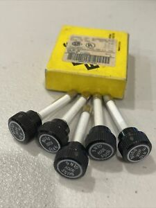 Pack Of 5 Buss Cap Fuses Glr 6 Amps